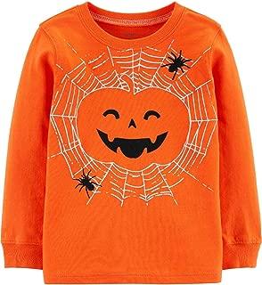 Carter's Boys' Long-Sleeve Halloween Graphic Tee