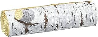 faux birch log card holders