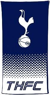 Tottenham Hotspur FC Official Soccer Crest Design Fade Beach Towel