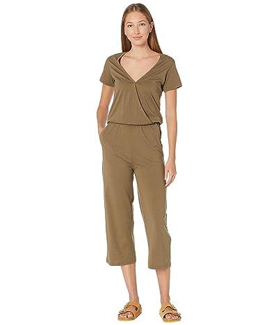 tentree Blakely Short Sleeve Knit Jumpsuit