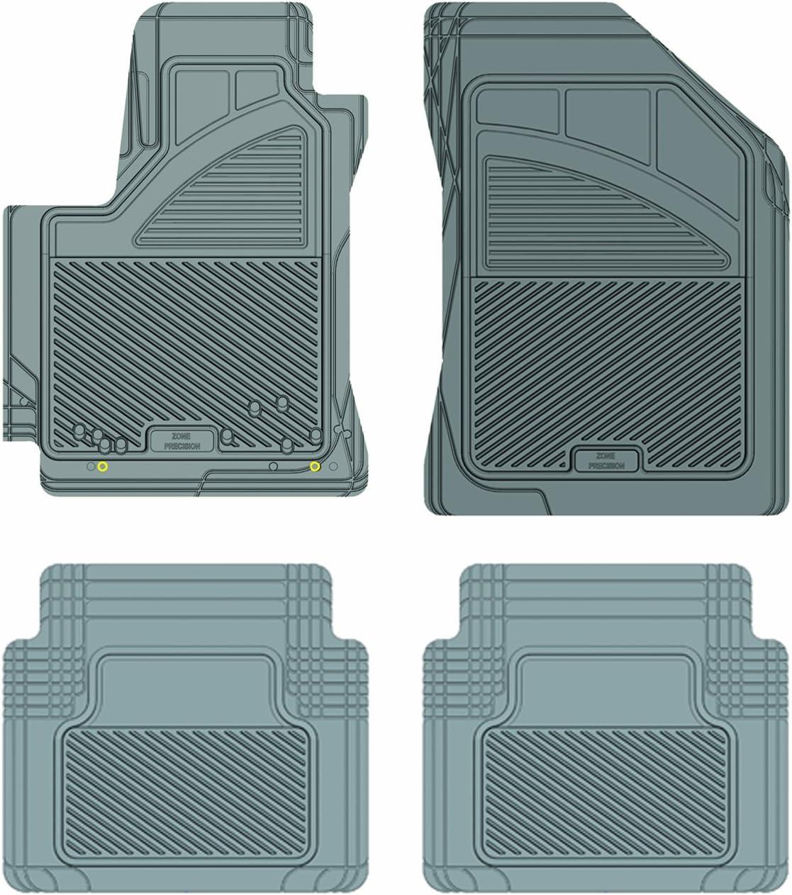 Custom Fit Car Mat 4PC PantsSaver Tan 0408163