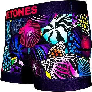 BETONES (ビトーンズ) メンズ ボクサーパンツ SHELL NAVY dwearsステッカー入り ローライズ アンダーウェア 無地 ブランド 男性 下着 誕生日 プレゼント