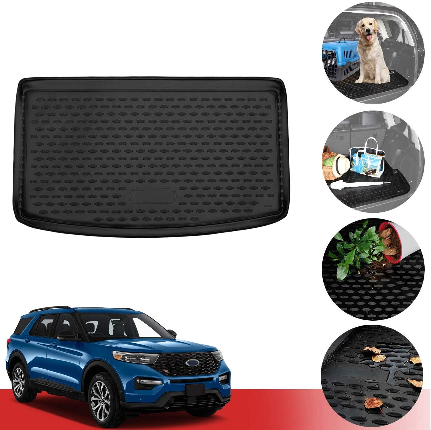 OMAC 5 ☆ popular Manufacturer direct delivery Auto Interior Accessories Cargo Liner Ford Explorer Fits