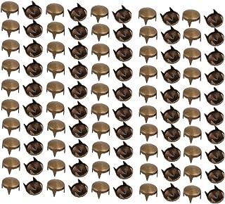 لون0167 الجديد 100 قطعة 7 مم يتميز بتصميم مدبب، كفاءة يمكن الاعتماد عليها باللون البرونزي لسكرابوكينغ صناعة يدوية (الهوية:...