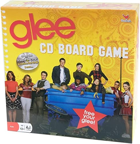 Glee CD Board Game - Bilingual, English and French Edition