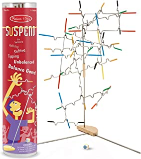 Melissa & Doug Suspend Family Game, Classic Games, Exciting Balancing Game, Develops Hand-Eye Coordination, 12.5