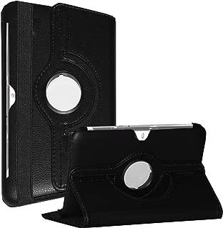 Galaxy Tab 2 10.1 case - JYtrend (R) Rotating Stand Cover for Samsung Galaxy Tab 2 10.1-inch GT-P5100 GT-P5110 GT-P5113 GT-P5113TSYXAR GT-P5100TSAXSA GT-P5100TSABTU GT-P5110ZWAXSA (Black)