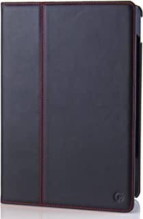 Casemade iPad Pro 10.5 / Air 3 (2019) Case/Cover Luxury Real Italian Leather for The Apple iPad Pro/Air (Black)