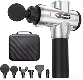 DamKee Massage Gun ,Professional Deep Tissue Handheld Percussion Massager for Full Body Muscle Recovery and Pain Relief Device ,Quiet Brushless Motor Electric Massagers for Shoulder and Back