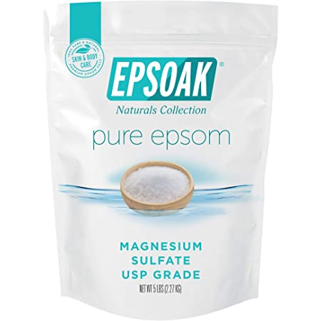 Epsoak Epsom Salt - 5 lbs. Magnesium Sulfate USP