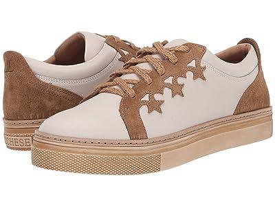 Lucchese Saddle Shoe (Cream/Olive) Women