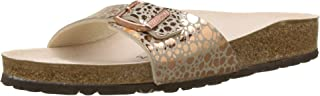 Birkenstock Women's Madrid 1-Strap Cork Footbed Sandal- Narrow