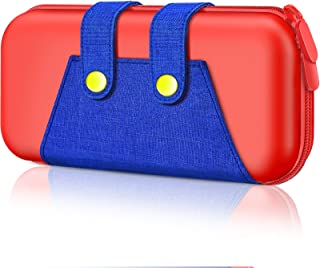 Capa para interruptor, Estojo de transporte BEBONCOOL para console Nintendo Switch e bolsa de acessórios para armazenament...
