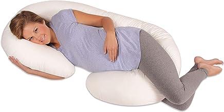 Leachco Snoogle Original Maternity/Pregnancy Total Body Pillow, Ivory