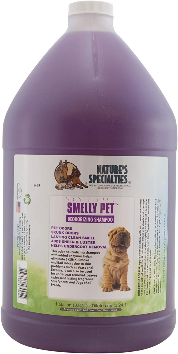 Nature's Specialties unisex Smelly Pet Shampoo Max 61% OFF