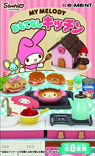 ON BOX 8 Stück My Melody Gastfreundschaft K e (Candy Toys & Kaugummi)