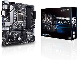 ASUS PRIME B460M-A Intel B460 (LGA 1200) mATX 2x Aura Sync RGB Header Dual M.2 DDR4 2933MHz HDMI DP USB 3.2 Gen 1 voorbere...