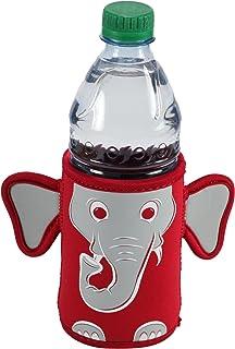 Kidkusion Inc. Elephant Mascot Bottle Bud, Red/Grey