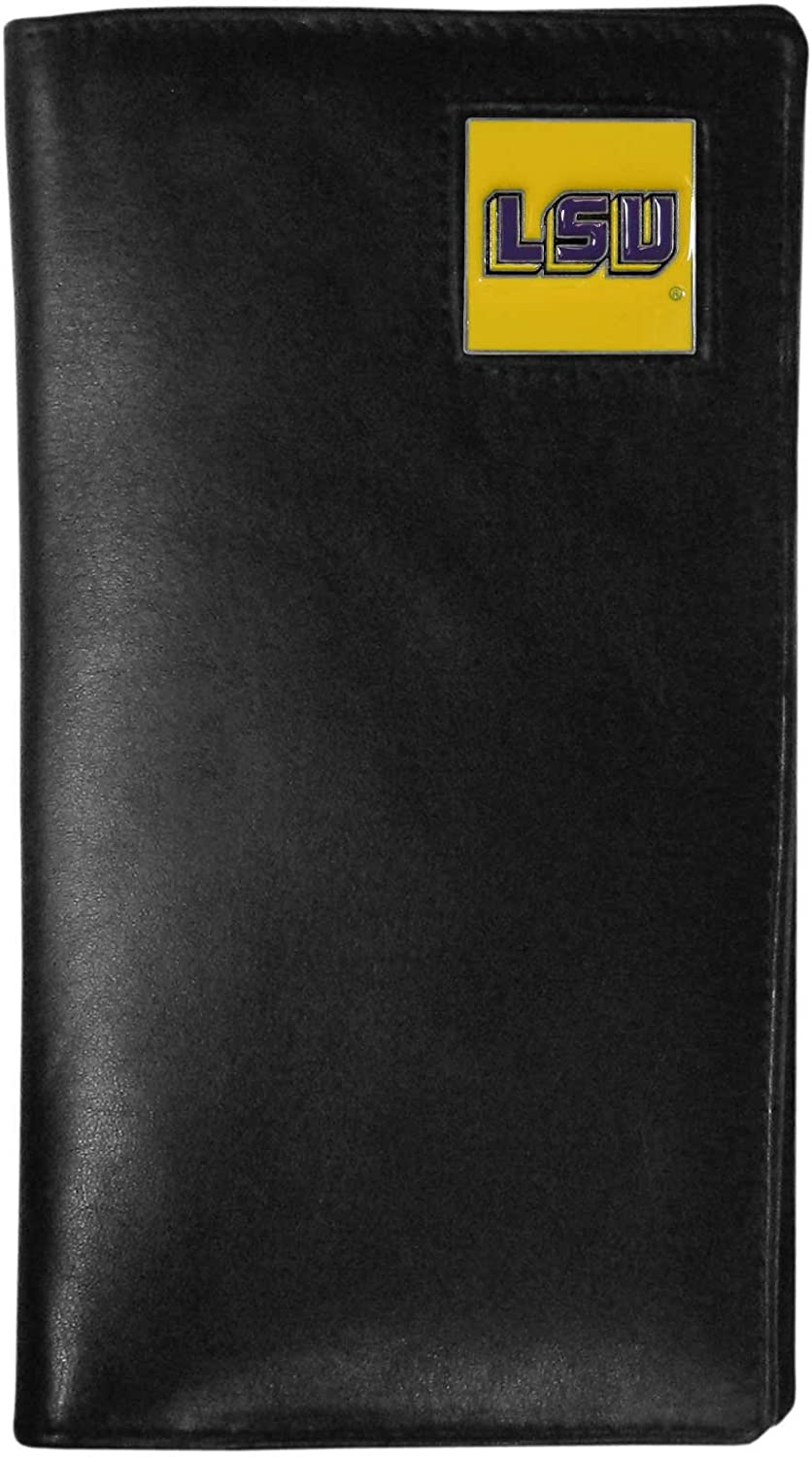 NCAA LSU Tigers Tall Leather Wallet