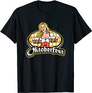 オクトーバーフェストドイツビールオクトーバーフェストTシャツのプロストギフトを飲む