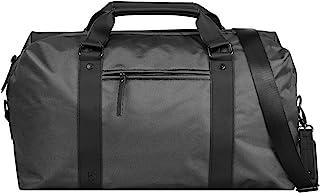 Bugatti Domani Sporttasche/Reisetasche für Damen und Herren, Unisex Weekender, Grau
