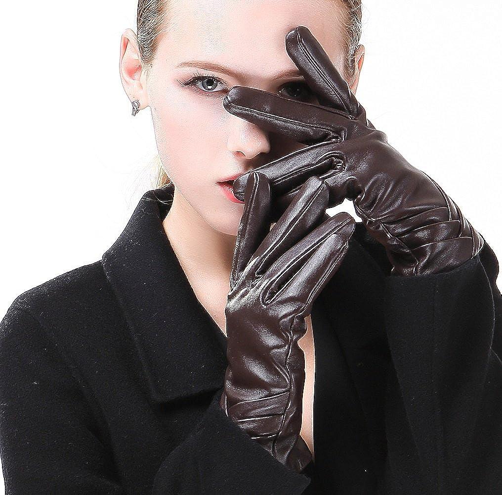 Harrms Best Luxury touchscreen Popular Dedication product Italian Leather Genuine Nappa Glo