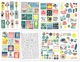 "Simple Stories Sunshine & Blue Skies Stickers 4""X6"" 8/Pkg-"