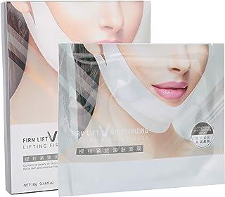 BISUTANG Gezichtsvermindering, Maskerliftend V-vormmasker, Verstevigend masker voor dubbele kin verminderen, V-afslankmask...