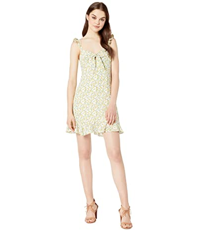 ASTR the Label Marla Dress (Lemon Drop) Women