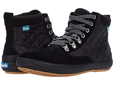 Keds Scout Boot II Suede Nylon WX (Black/Black) Women