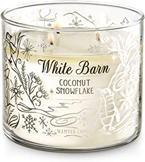 Best white barn coconut snowflake candle Reviews