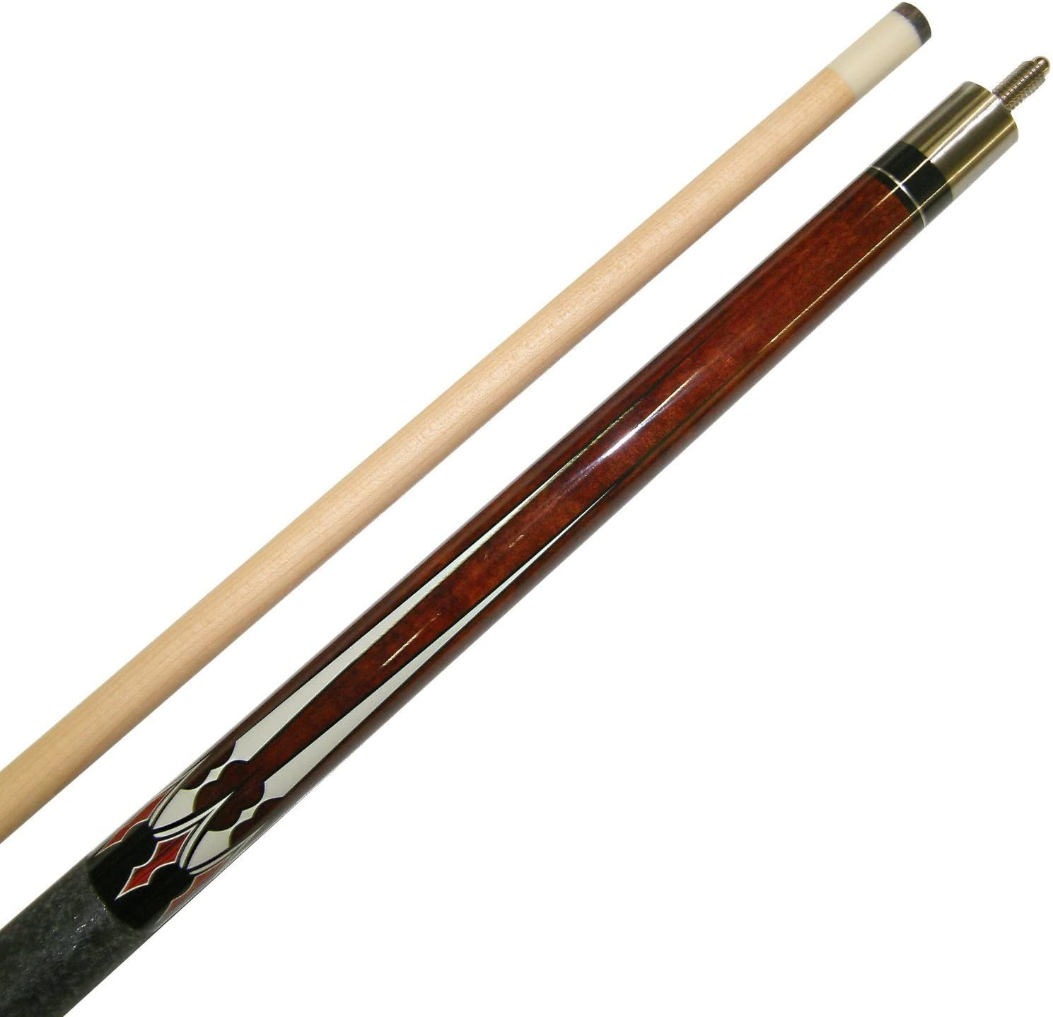 Billiard Stick Several Colors To Choose From 18 Or 19 Ounce Short 48 2 Piece Hardwood Maple Pool Cue