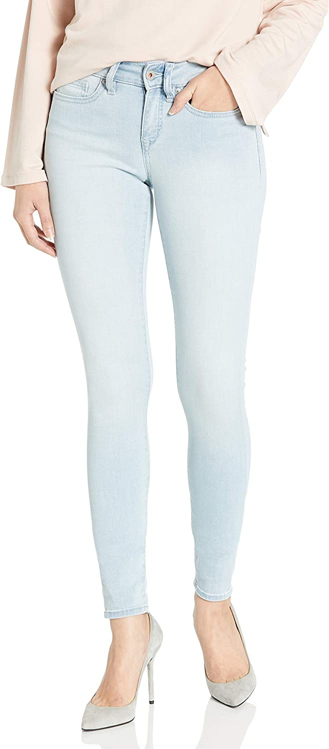 Yummie Women's Modern Mid Rise Super service Factory outlet Denim Slimming Skinny Jeans