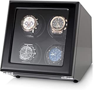 Quad Watch Winder with Motor-Stop Option and 4 Predefined Programs