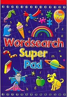 Brown Watson Wordsearch Super Pad, multicolour