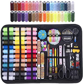 DAYONG Large Sewing Kit,200Pcs Premium Sewing Supplies,41 XL Thread Spools, Anti-Scratch Durable 600D Oxford Fabric Sewing...