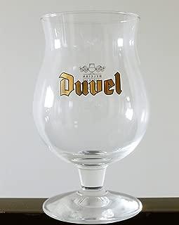 Duvel Golden Ale Tulip Belgian Beer Glass 0.33 - Set of 4
