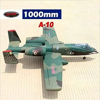 DYNAM A-10 Thunderbolt Green 64mm EDF Jet - PNP