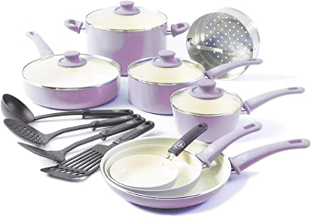 Amazon Com Purple Cookware Sets Cookware Home Kitchen