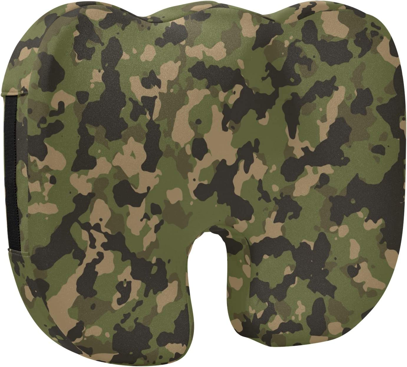 xigua Camouflage Memory Max 80% OFF Foam Seat New York Mall Comfort Cushion Breathab Cover