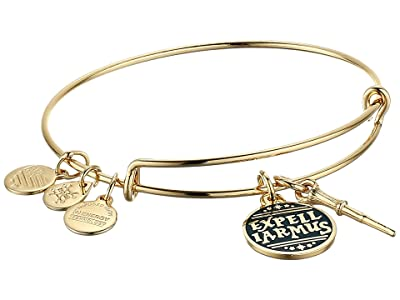Alex and Ani Harry Potter Duo Bangle Bracelet (Gold/Expelliarmos) Bracelet