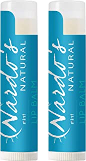 Organic Lip Balm SPF 30 by Nardo's Natural | 2 Pack Peppermint