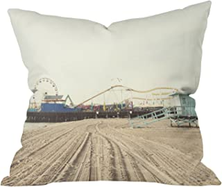 "Deny Designs Bree Madden Splash Outdoor Throw Pillow, 16"" x 16"""