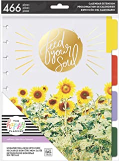 me & my BIG ideas 6 Month Wellness Extension - The Happy Planner Scrapbooking Supplies - 7 Pre-Punched Dividers - Undated ...