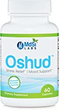 MdSi Labs Anxiety, Stress and Panic Relief - Mood Support With Gaba And 5 HTP. Full Of Vitamin B, 100% Natural - No Chemicals and No Harsh Side Effects | 60 Vegetable Capsules (1-2 Months Supply)