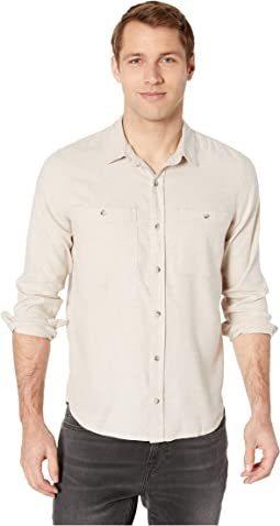 Taj Hemp Long Sleeve Shirt Slim