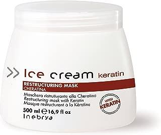 Inebrya Ice Cream Restructuring Mask with Keratin 500ml/16.9oz