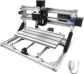 Mophorn CNC Machine 3018 Grbl Control CNC Router Kit 3 Axis PCB Wood Carving Milling Machine 300X180X45mm with Er11 + 5mm ...
