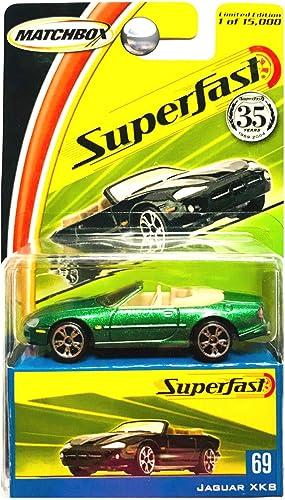 Matchbox 2004 Superfast Jaguar XK8 Limited Edition Collector voiture 2004 69 by Matchbox
