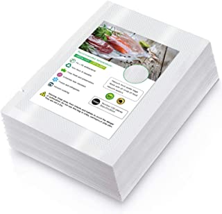 Sac Sous Vide Alimentaire de 100 Sacs 20 x 30cm Sacs Sous Vide Pack, sans BPA, Certification LFGB, pour Conservation des A...